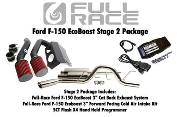 Full Race F150 Stage 2 Performance Kit