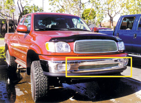 T-REX Billet Series, Overlay Bumper Grille - Polished - 1999-2002 Tundra