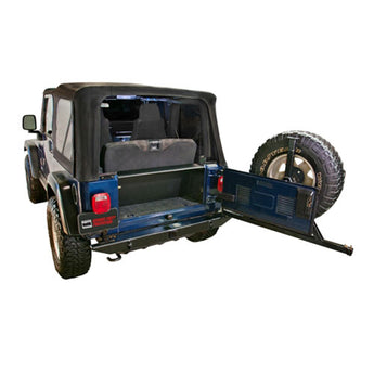Tuffy Security Tailgate Enclosure - 1996-2006 Jeep TJ