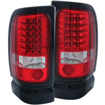 Anzo Tail Light Assembly - 1994-2002 Dodge Ram 3500