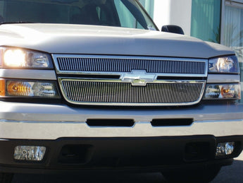 T-REX Billet Series, Overlay Grilles - Polished - 2006 Silverado