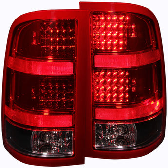 Anzo Tail Light Assembly - 2007-2013 GMC Sierra 2500 HD