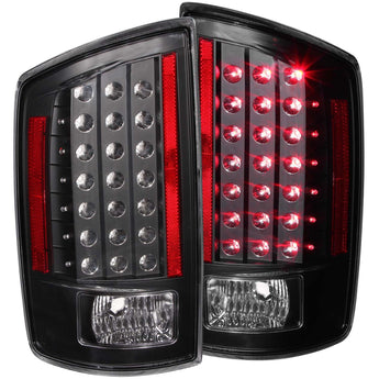 Anzo Tail Light Assembly - 2006-2009 Dodge Ram 1500