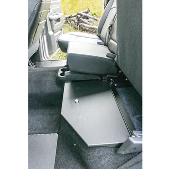 Tuffy Security Rear Split-Bench Underseat Storage Security Lid - 2009-2016 Ram 1500/2500/3500