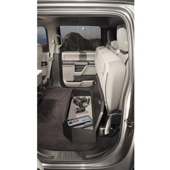 Tuffy Security Under 60 Percent Bench Seat Lockbox Rear- 2015-2019 F250/F350