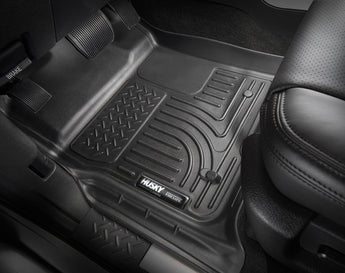 Husky Weatherbeater Floor Liner Front and Rear - Free Shipping - 2018-2019 Tacoma