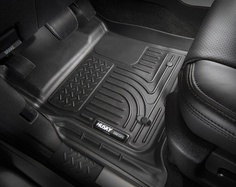 Husky Weatherbeater Floor Liner Front and Rear - 2018-2019 Tacoma