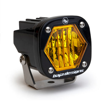 Baja Designs - S1 Lens - Amber Wide Cornering