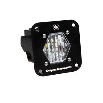 Baja Designs S1 Wide Cornering Beam - Flushmount (Single)