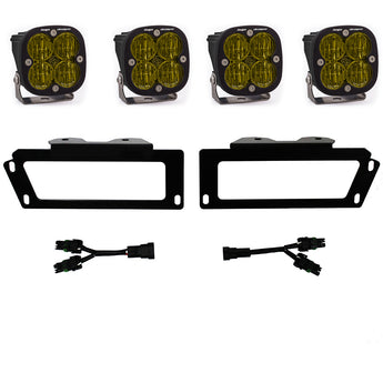 Baja Designs Amber SAE Fog Light Kit -  2010-2018 Dodge Ram 2500/3500