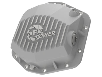 AFE Street Series Rear Differential Cover Raw w/Machined Fins