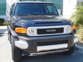 T-REX Upper Class Series, 2 Piece Overlay Grilles - Powdercoat - 2007-2014 FJ