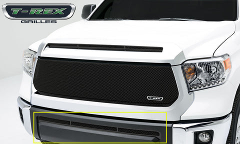 T-REX Upper Class Series, 1 Piece Overlay Bumper Grille - Powdercoat - 2014-2017 Tundra