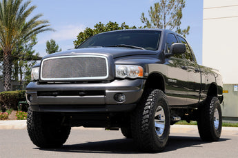 T-REX Upper Class Series, 1 Piece Insert Grilles - Polished - Requires Drilling or Cutting - 2002-2005 Ram 1500/2500/3500