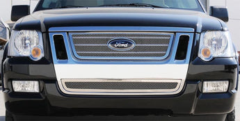 T-REX Upper Class Series, Overlay Grilles - Polished - 2006-2010 Explorer SportTrac