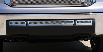 T-REX Upper Class Series, 3 Piece Overlay Bumper Grille - Polished - 2010-2013 Tundra