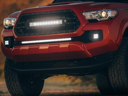 2016 2017 Toyota Tacoma Rigid Industries Led Grille Ford