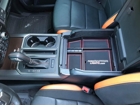 2017-2019 F-150/Raptor Center Console Drop-In Tray