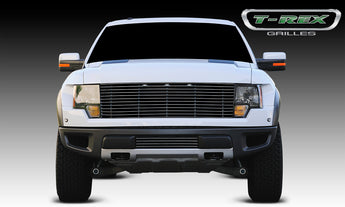 T-REX Laser Billet Series, Grilles - Polished - 2010-2014 SVT Raptor