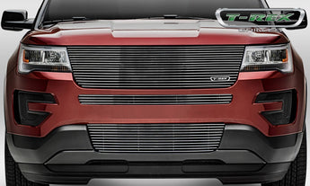 T-REX Laser Billet Series, Grilles - Polished - 2016-2018 Explorer