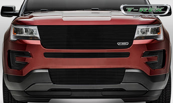 T-REX Laser Billet Series, Grilles - Powdercoat - 2016-2018 Explorer