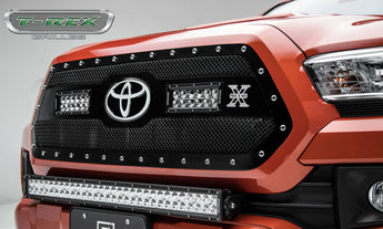 T-REX Torch Grilles - Requires Drilling or Cutting - 2018-2019 Tacoma