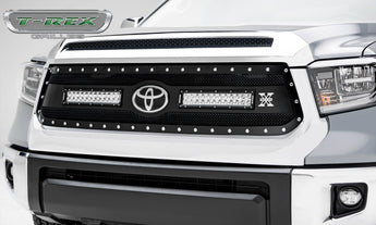 "T-REX Torch Replacement Grilles w/ 2x 12"" Light bars - 2018-2019 Tundra"