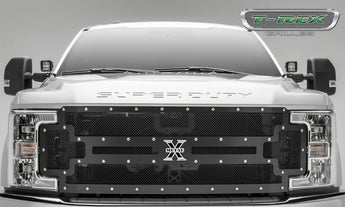 T-REX X Metal Series, Grilles - 2017-2019 F250/F350 with Forward Camera