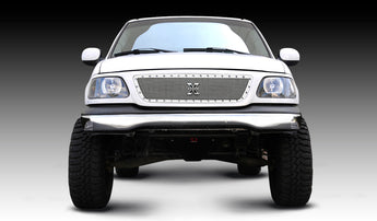 T-REX X Metal Series, Insert Grilles - Polished - Requires Drilling or Cutting - 1999-2003 F150