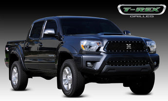 T-REX X Metal Series, Insert Grilles - Requires Drilling or Cutting - 2012-2015 Tacoma