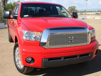 T-REX X Metal Series, Insert Grilles - Polished - Requires Drilling or Cutting - 2007-209 Tundra