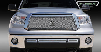 T-REX X Metal Series, Insert Grilles - Polished - Requires Drilling or Cutting - 2010-2013 Tundra