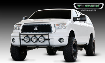 T-REX X Metal Series, Insert Grilles - Requires Drilling or Cutting - 2010-2013 Tundra