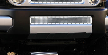 T-REX X Metal Series, Overlay Bumper Grille - Polished - 2007-2014 FJ