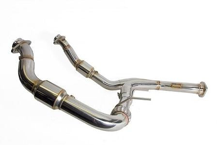 "Full Race F150 Ecoboost 3"" Downpipes"