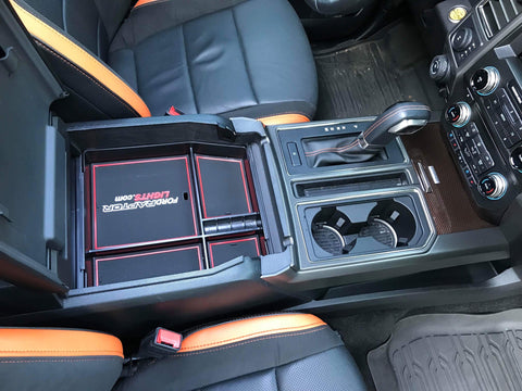 Center Console Drop In Tray 2017 2019 F 150 Raptor