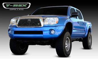 T-REX Grunt Series, Insert Grilles - Powdercoat - Requires Drilling or Cutting - 2011 Tacoma