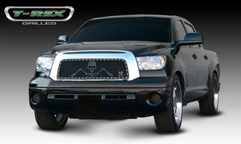 T-REX Grunt Series, Insert Grilles - Powdercoat - Requires Drilling or Cutting - 2007-2009 Tundra