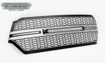 T-REX Laser Torch 1 Piece Grilles - Brushed - 2019 Ram 1500