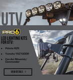 "KC Hilites Pro6 32"" LED Light Bar Polaris RZR"