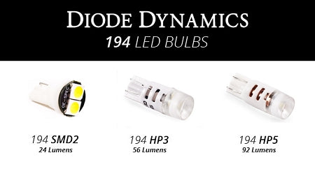 Diode Dynamics LED License Bulbs