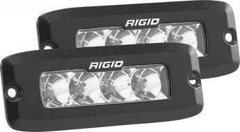 Rigid Industries SR-Q PRO Flush Mount (Pair)