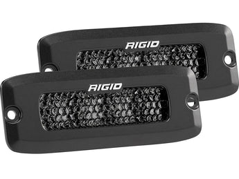 Rigid Industries SR-Q Series PRO Spot Diffused Midnight Edition (Pair)