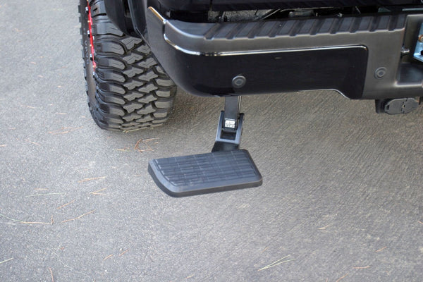 AMP Research - BedStep - Retractable Bumper Step - 2009-2014 F150 / 2010-2014 Raptor