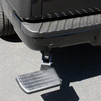 AMP Research - BedStep - Retractable Bumper Step - 2017-2020 F250/F350/F450
