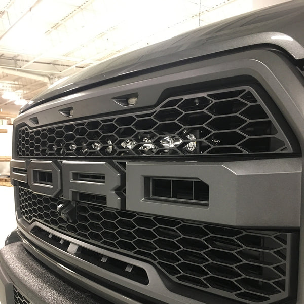 "Baja Designs 30"" S8 Behind Grille Light Bar Kit - 2017-2019 Raptor"