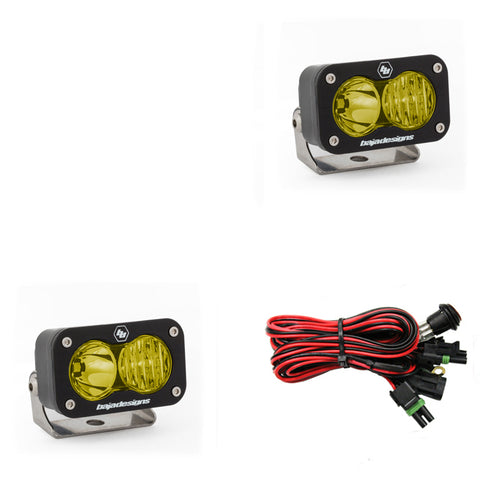 Baja Designs S2 Sport LED (Pair) (Driving/Combo)(Amber)