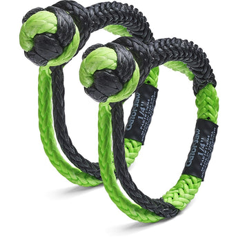 Bubba Rope Mini Gator-Jaw Synthetic Shackle (Pair)