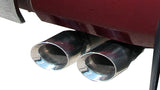 "Corsa 3"" Single Side Catback Exhaust - 2007-2008 Tundra (Double Cab/Crew)"
