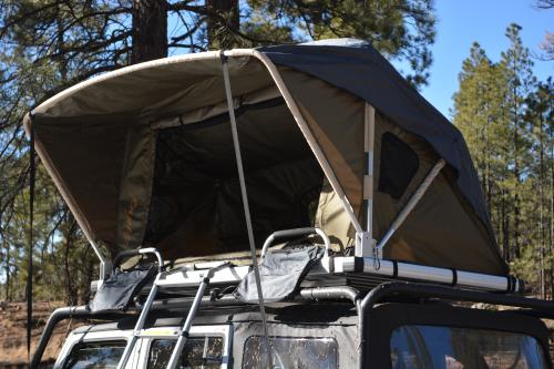 Raptor Series Voyager Rooftop Tent w/ Ladder